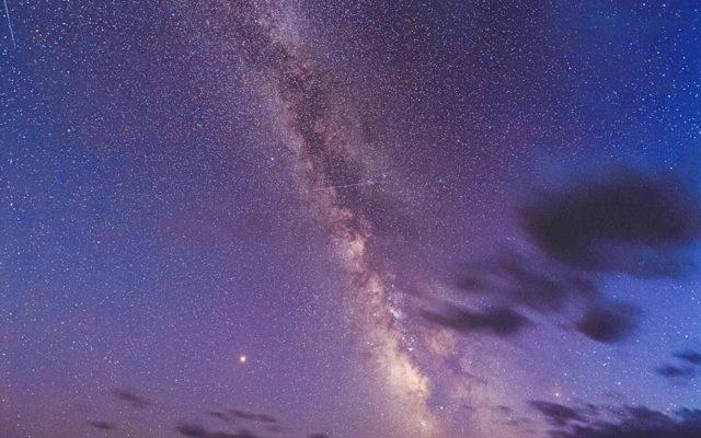 奇跡の星空