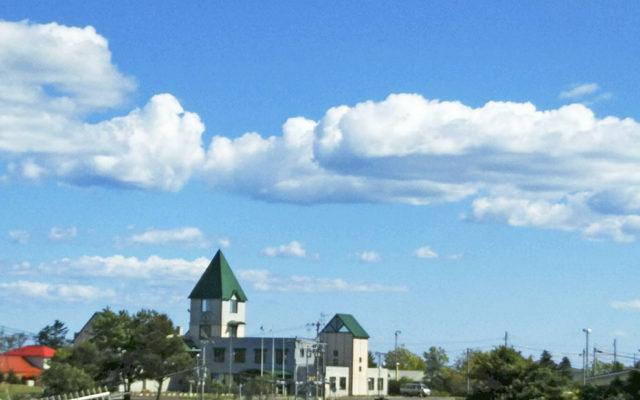 「雲に乗りたい」
