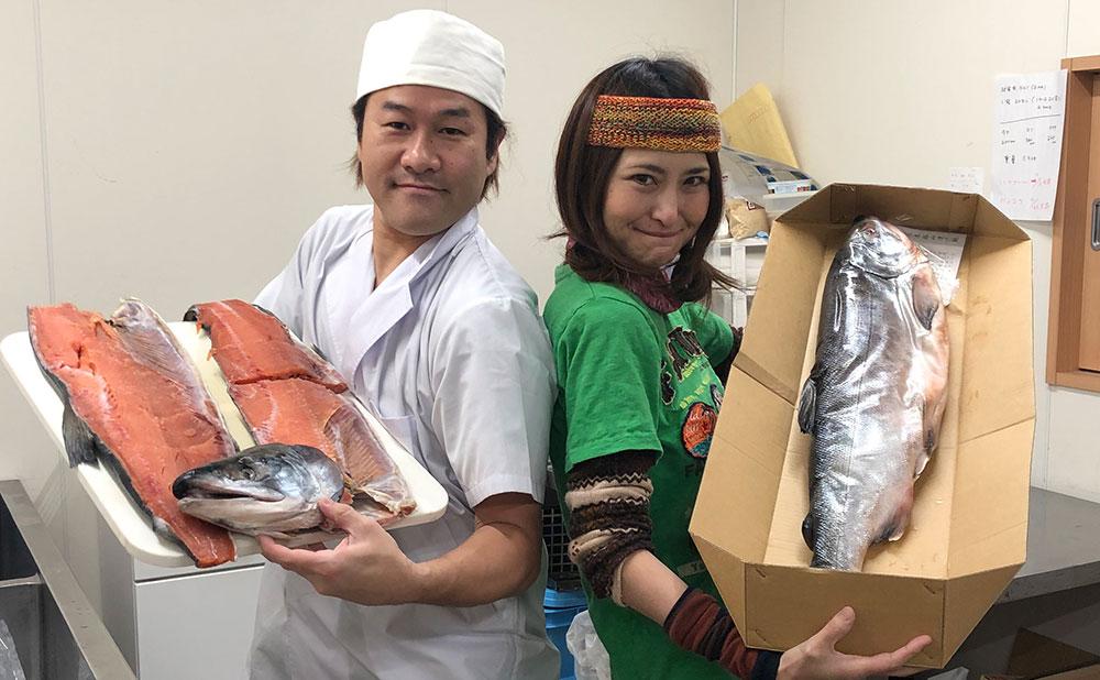 アンジェラ&川原雄武鮭山漬け