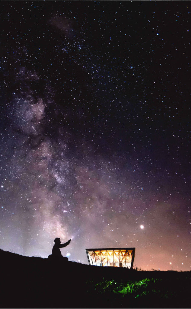 0001日の出岬の夜空