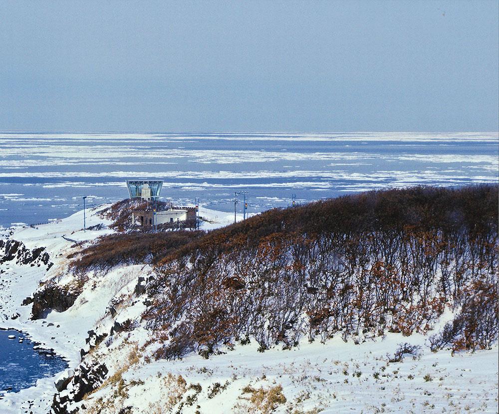 グランプリ岬の流氷